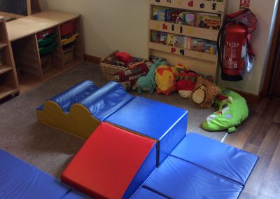 physical play toddler area